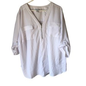 Boutique • Rolled Sleeve Blouse